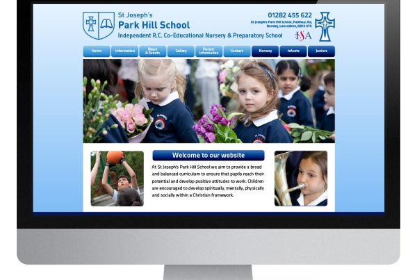 St Josephs Primary School Website Design