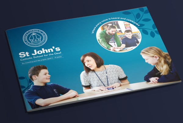 St John's School Prospectus Design & Print