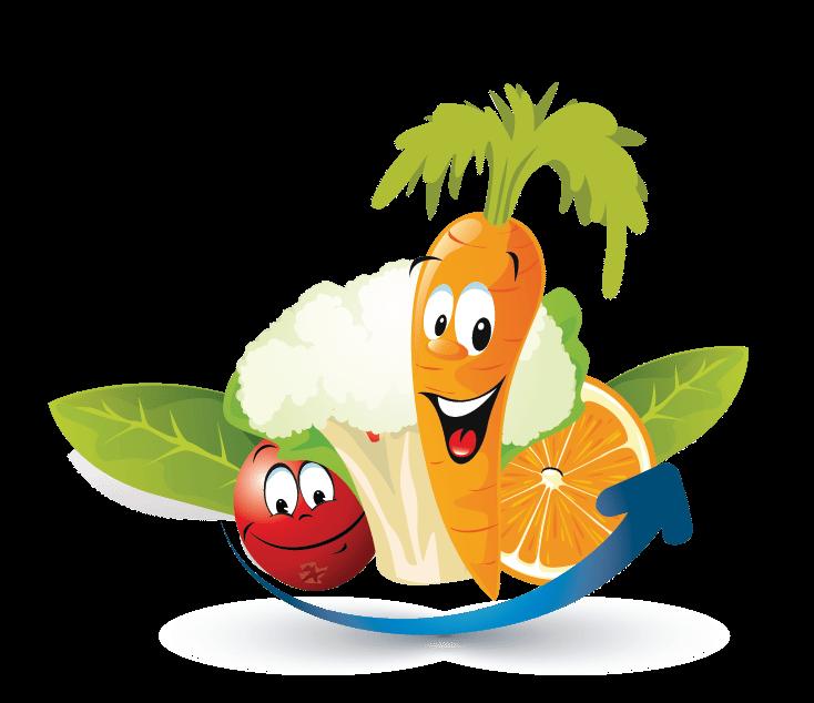 fruits vegetables online logo