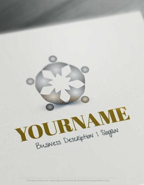 design free logo family