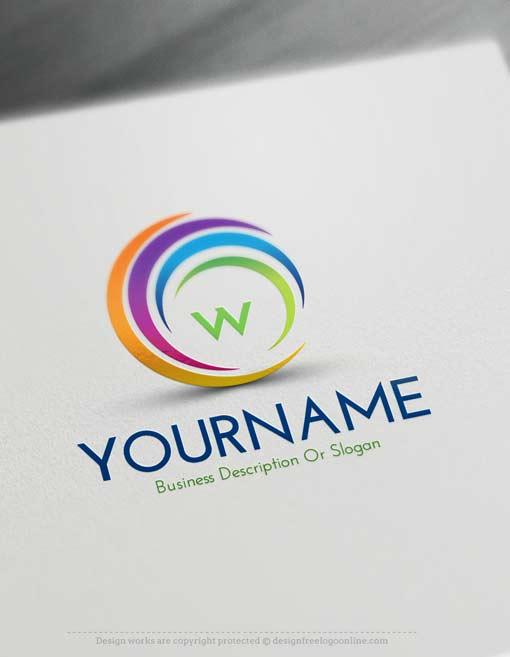 Online Free Logo Creator - Create Online Swirl Logos