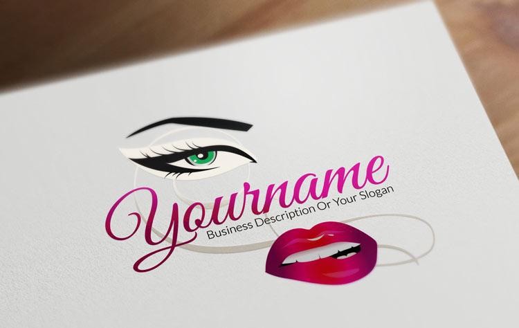 online beauty logo design
