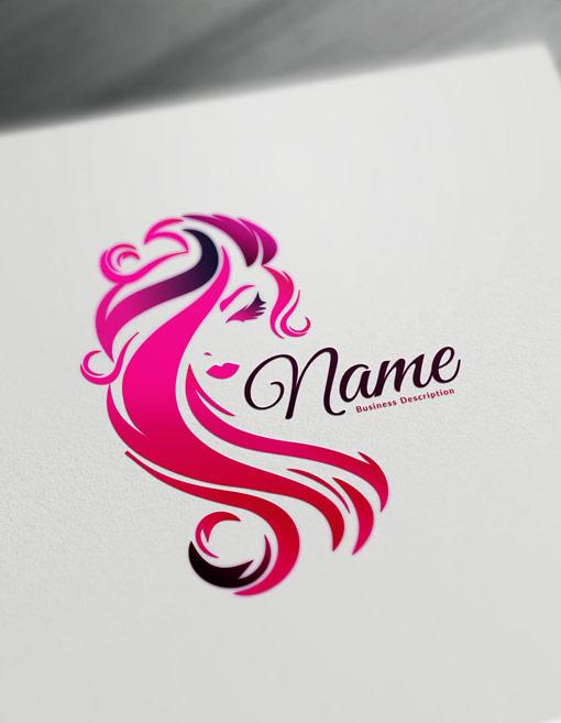 beauty logo maker free