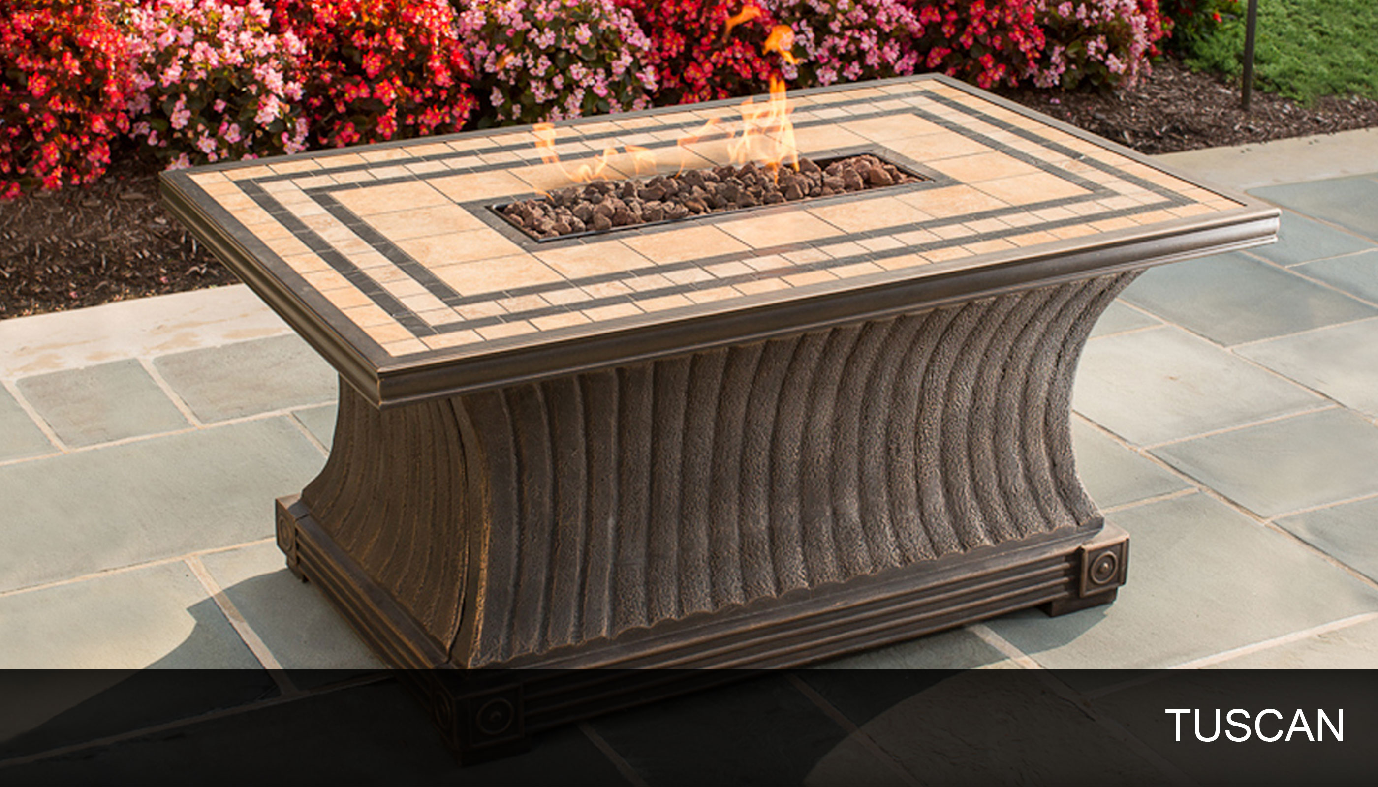 Patio Fire Pit for Sale  Rectangular Fire Table