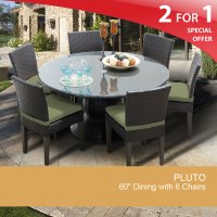 60 Inch Round Dining Table | Patio Dining Table for 6