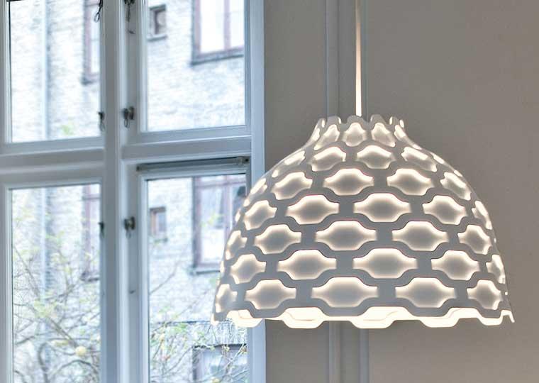 LC Shutters pendant light