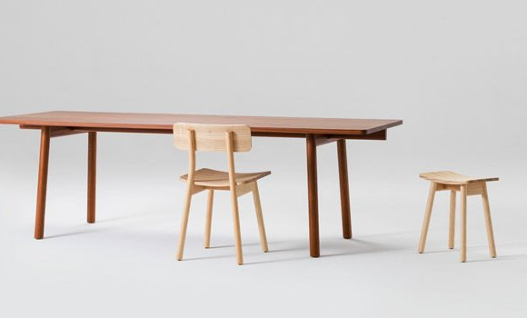 Lumber Table designed by Jamie McLellan for Fletcher Systems