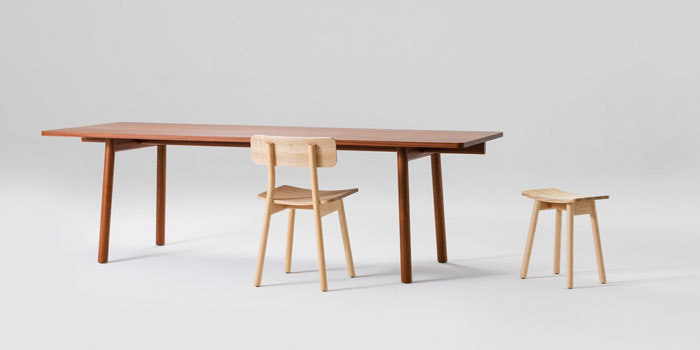 Lumber Table by Jamie McLellan for Fletcher Systems