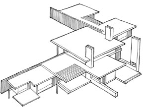 Sketch of layered form