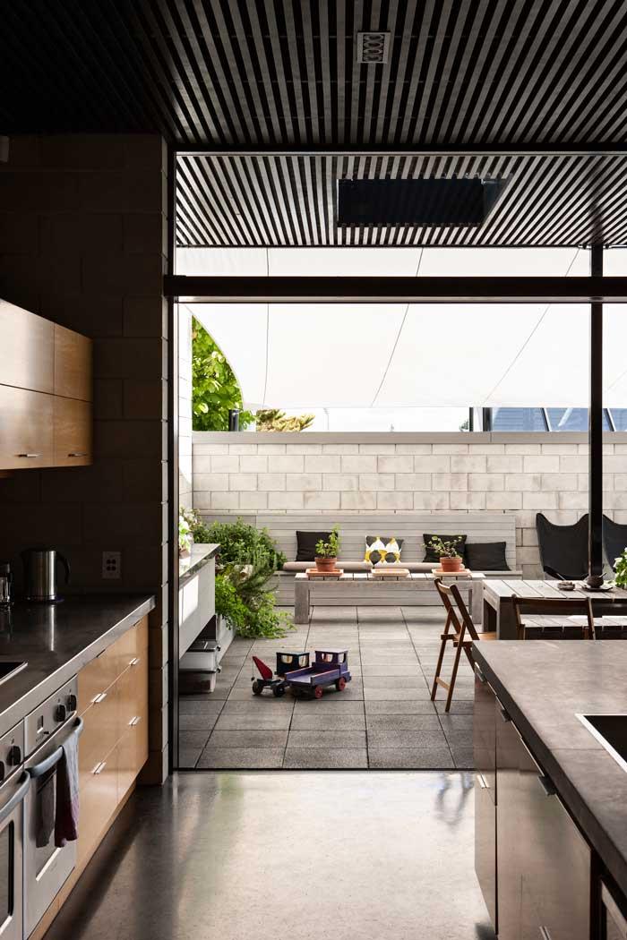 Concrete block house Hamilton