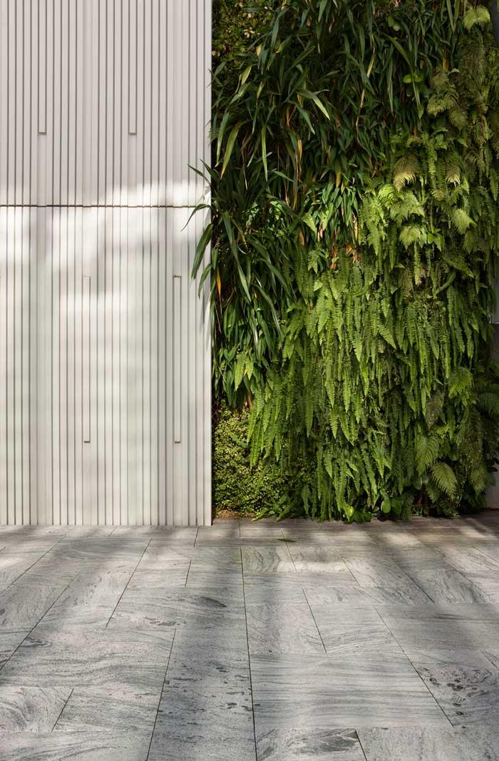 Green wall at Geyser