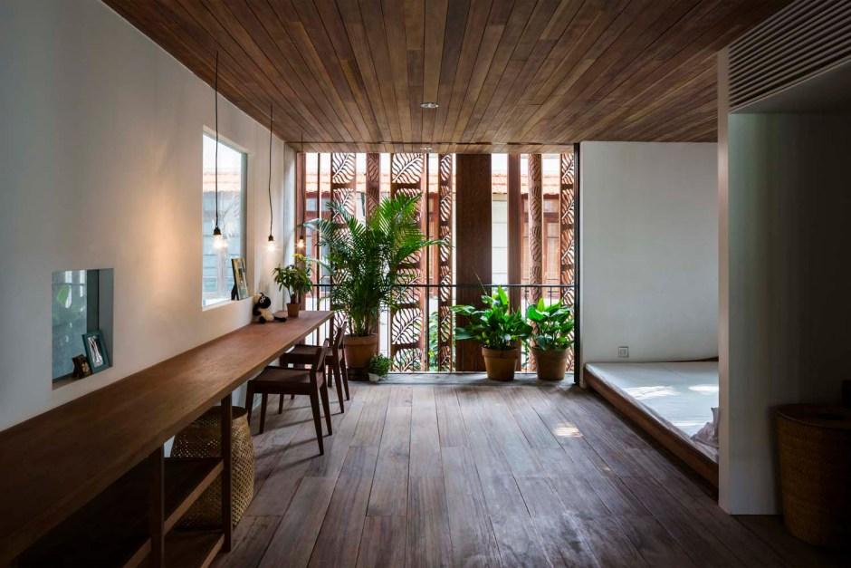 Nishizawa Architects townhouse children's floor