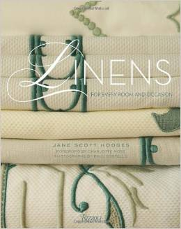 Jane Scott Hodges Book cover for Linens for Every Room and Occasion