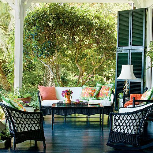 Porch Fantasies & Deck Dreams- Sittin' on the front porch