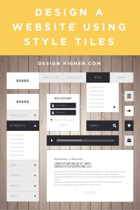 How to Design a Website Using Style Tiles: Web Assignment ...