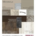Int. Material Board Swiss Cottage Kitchen
