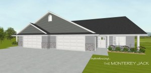 Monterey Jack Model home