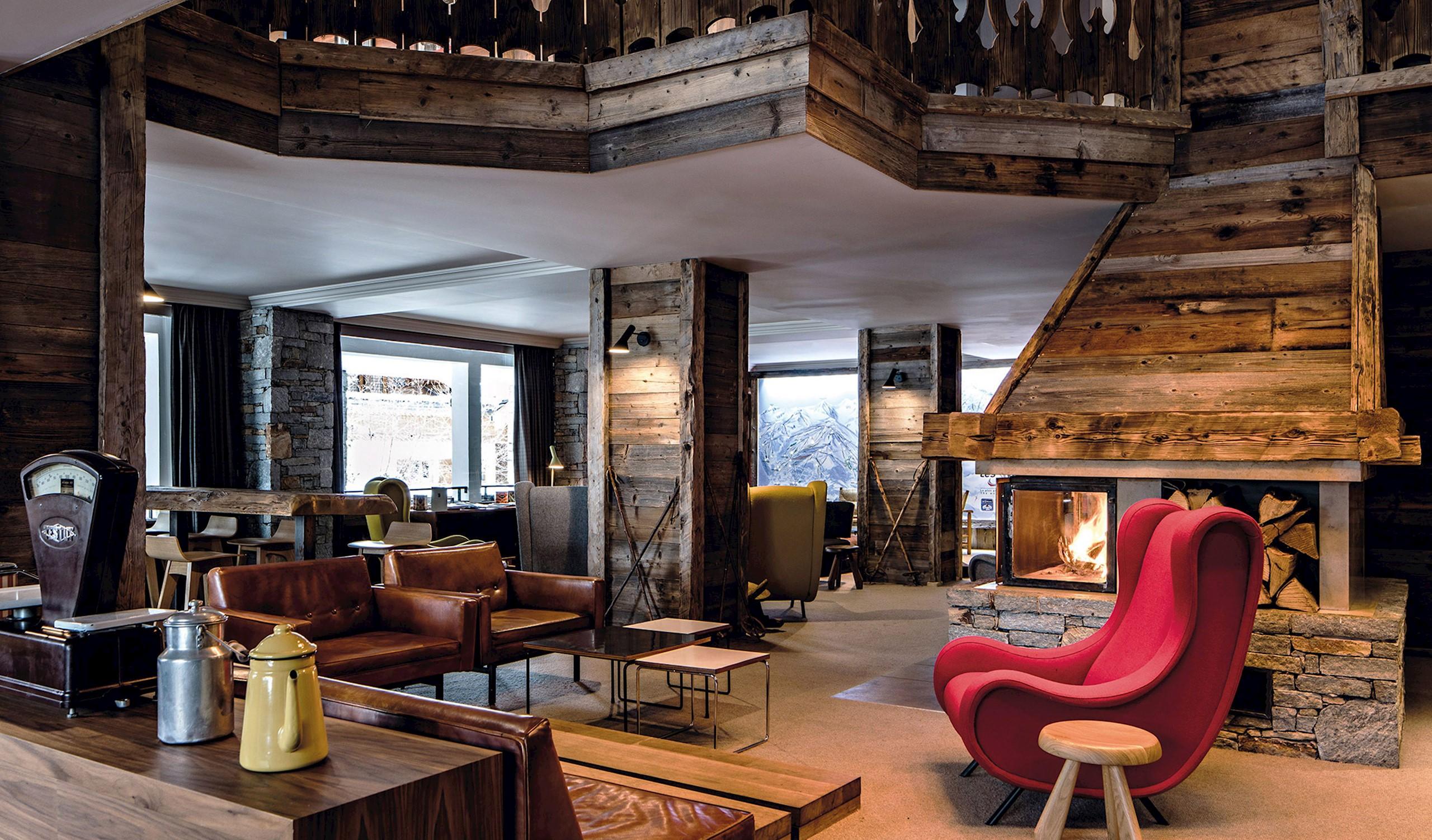 courchevel france design hotels