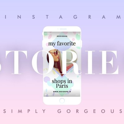 Instagram Stories Template •Simply Gorgeous by Design HQ