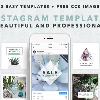 Clean Social Media Template Bundle - Design HQ