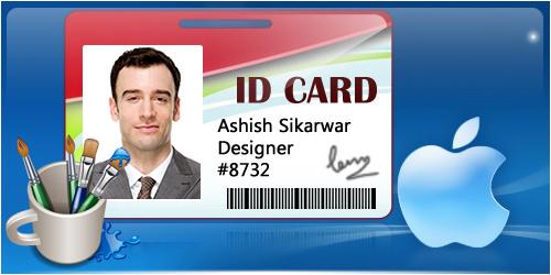 design id card of