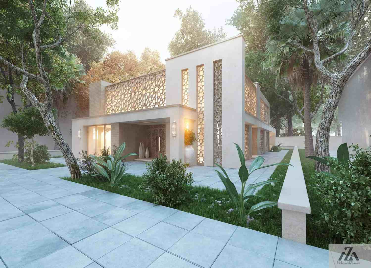 Oriental Style Home Decor Arabic Modern House By Mohamed Zakaria Design Ideas