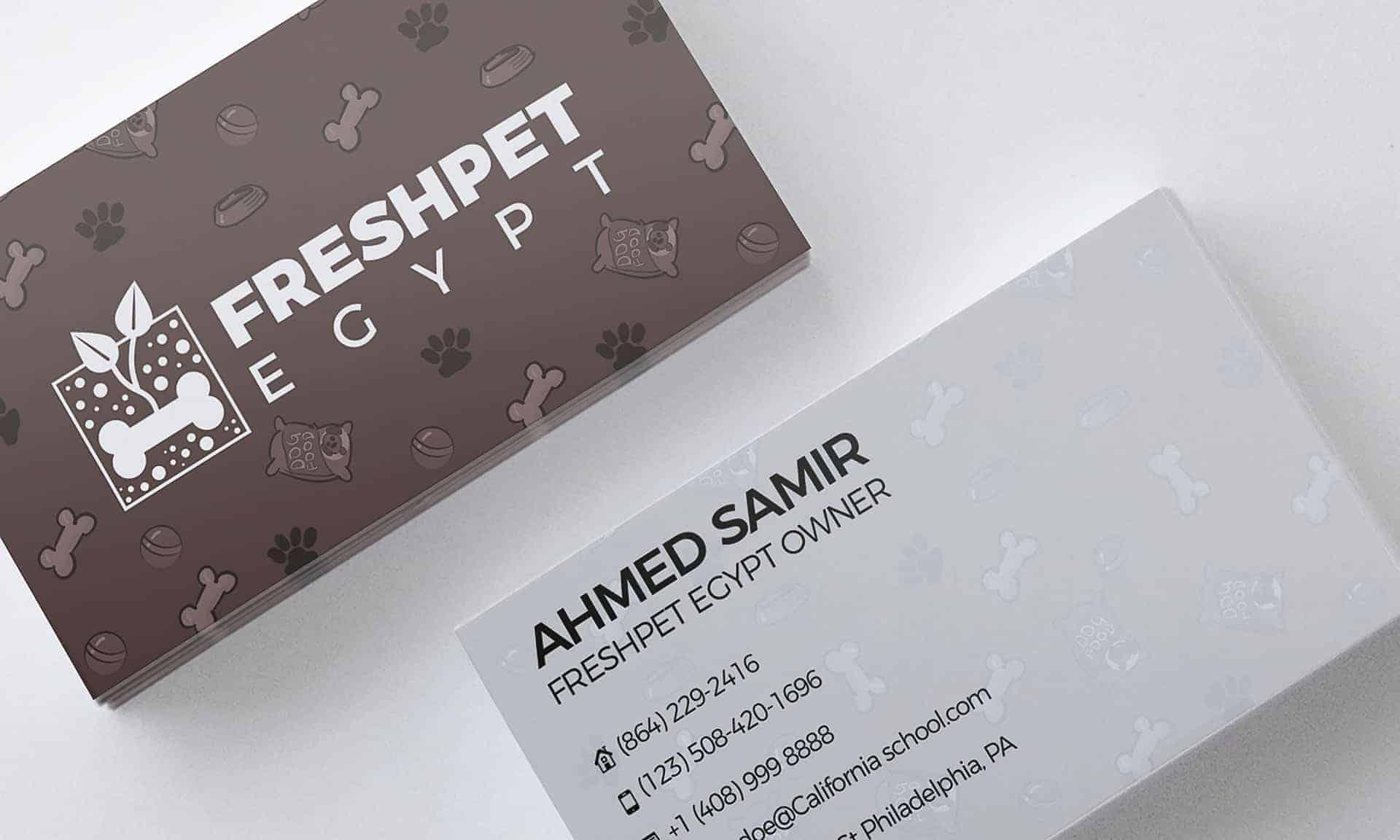 freshpet egypt branding project design ideas
