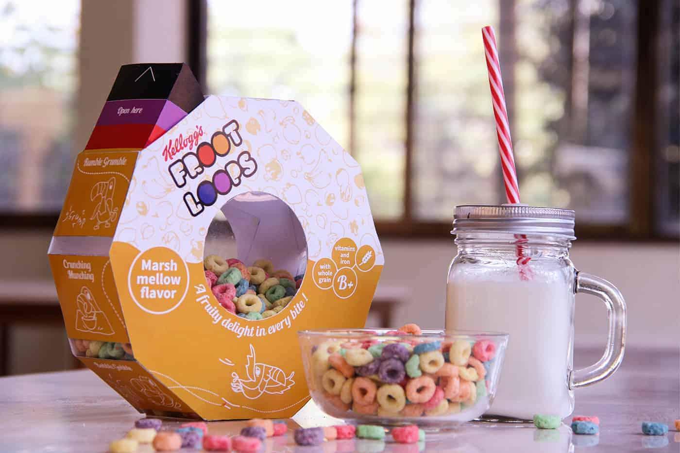 Frootloops Packaging Design Ideas