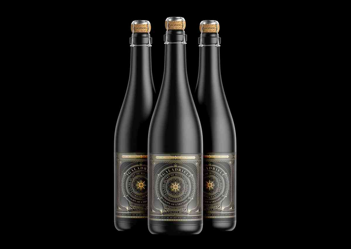 Galadriel - Wine Label Design