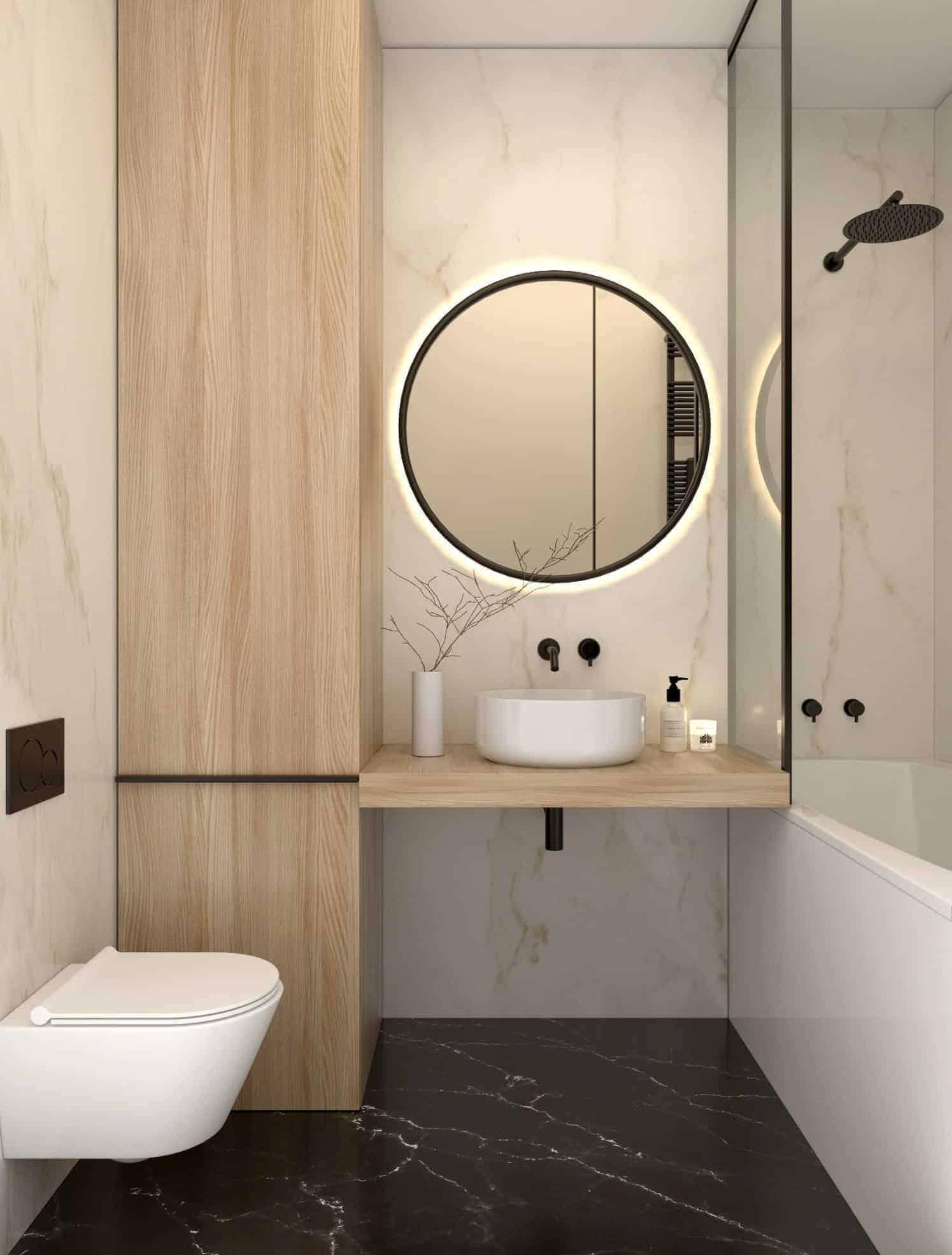 Light Bathroom  Design Ideas