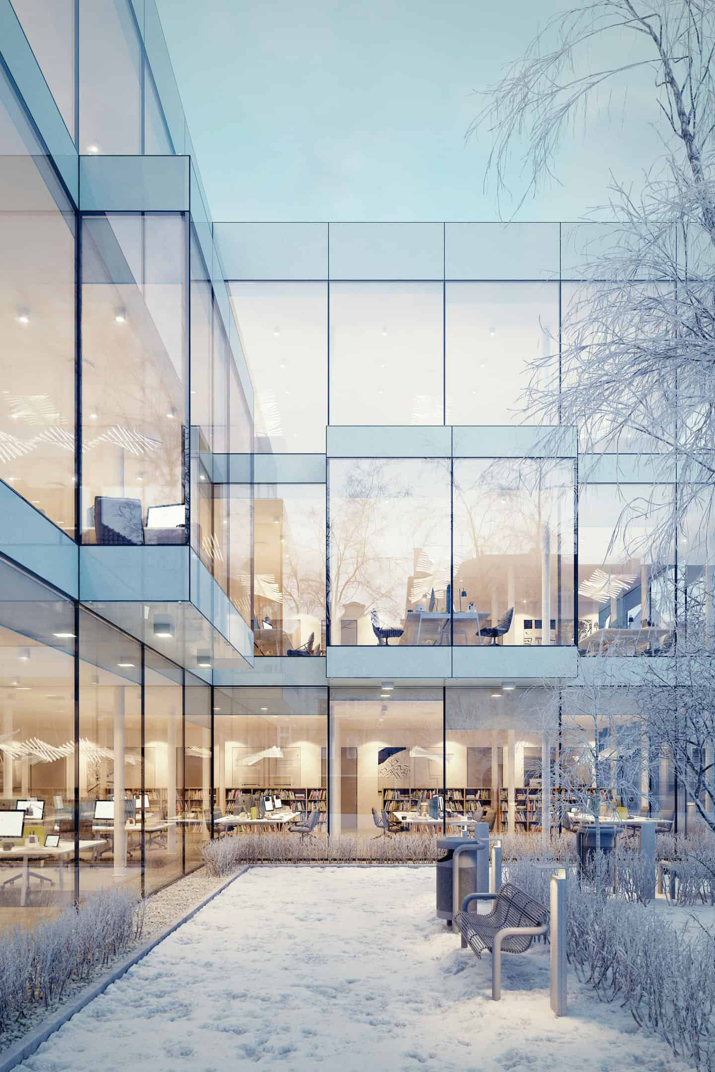 Glass Office - Design Ideas