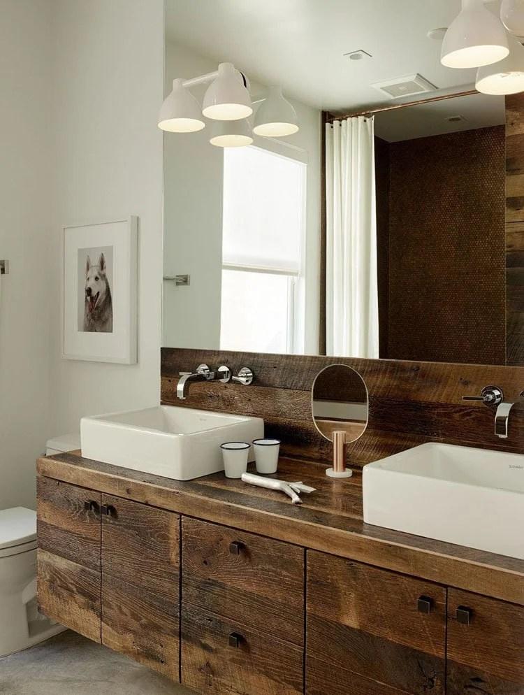 45 best rustic bathroom decor ideas