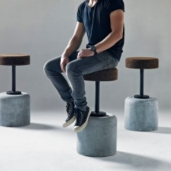 Bar Stool Chairs Blue Kitchen Chair Cushions With Ties Cork By Wiid Design | Indaba