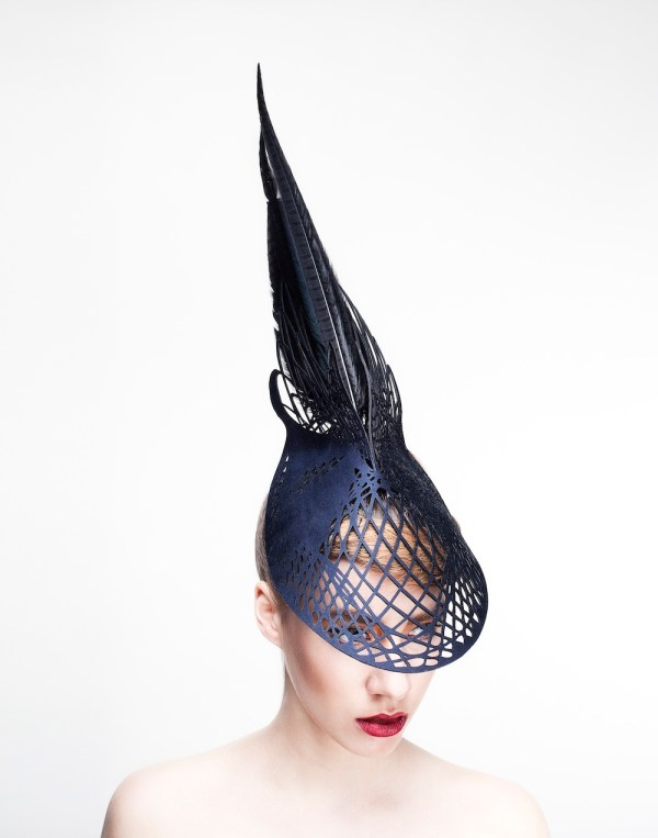 Emma Yeo Haute Couture Hats Carved Wood Design Indaba
