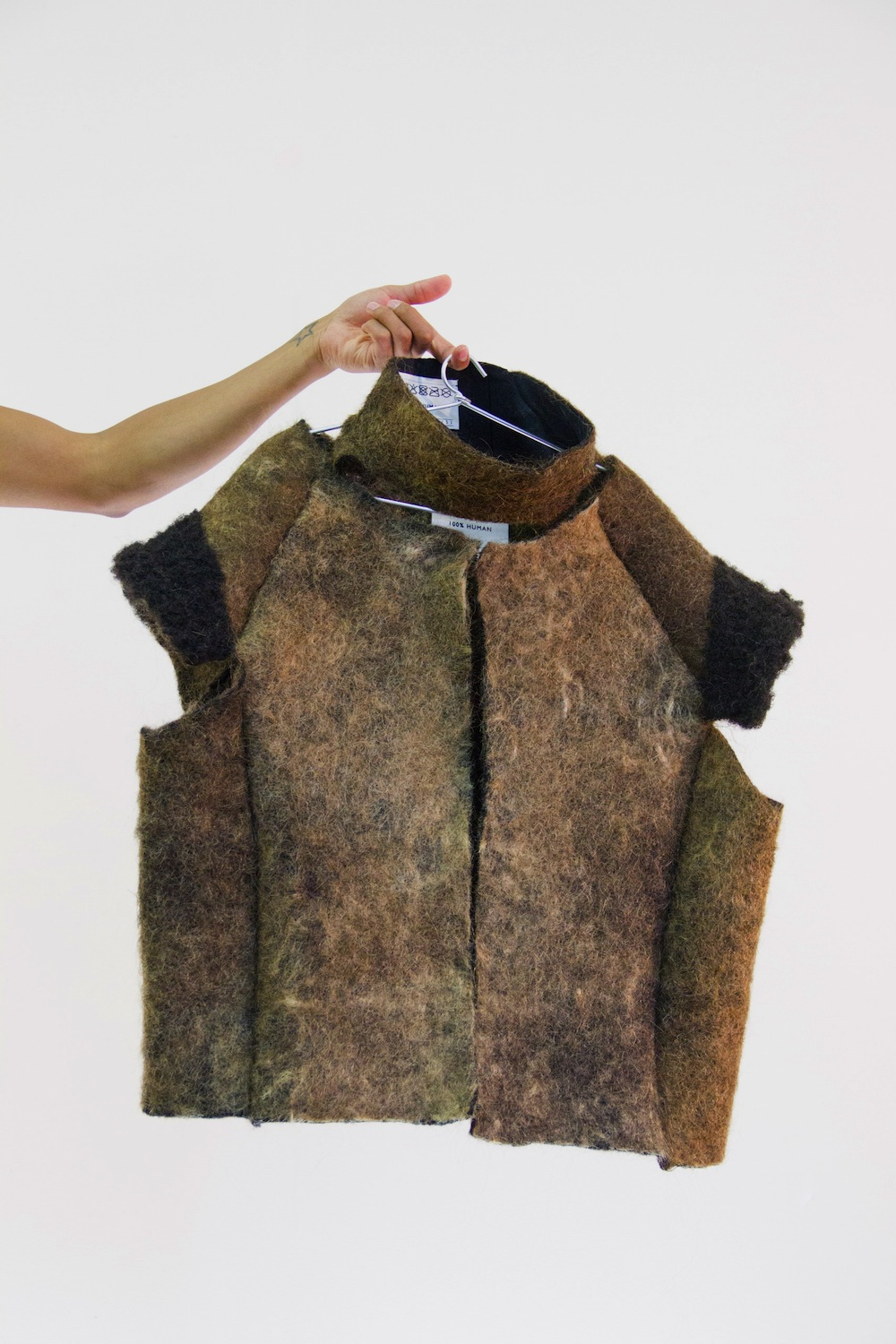 Eindhoven graduate designs clothes made out of human hair  Design Indaba