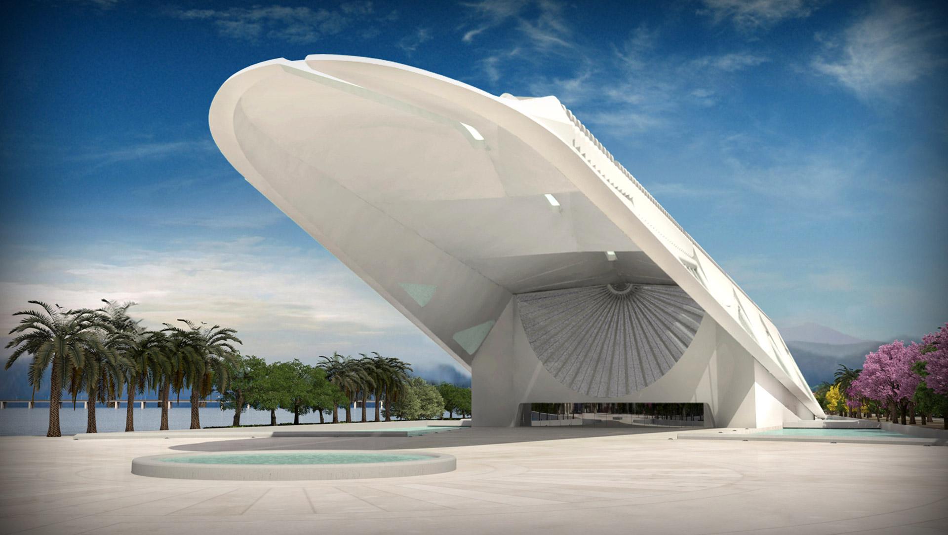 Rio de Janeiros grand new Museum of Tomorrow  Design Indaba