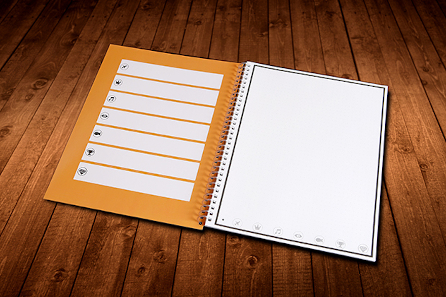 A high-tech. microwavable notebook   Design Indaba