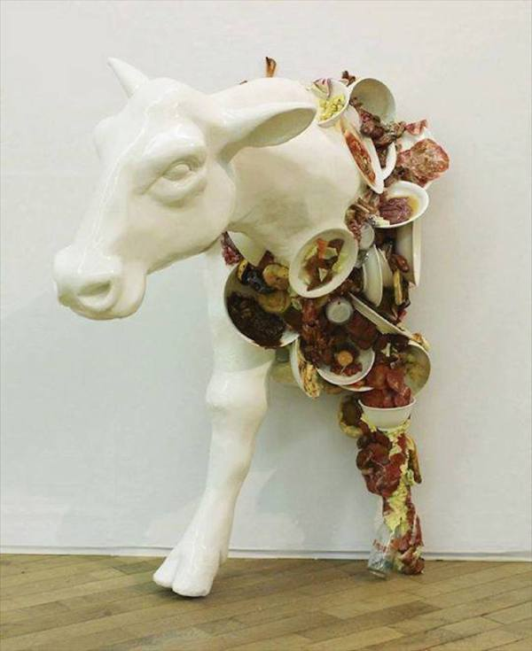 Fake Food Art Sculptures