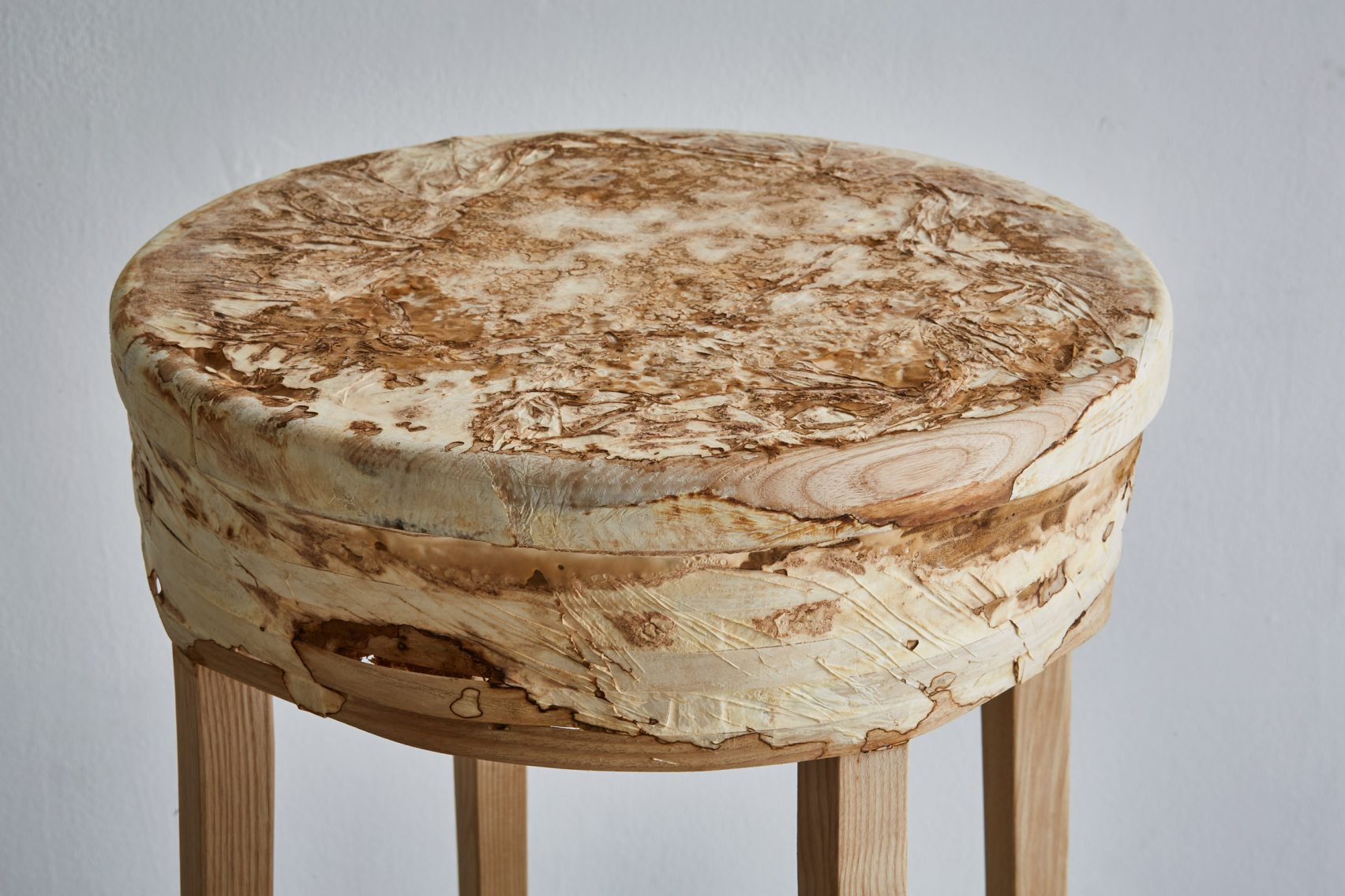 Combining fungi and willow to create functional furniture