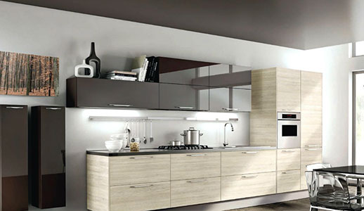 Modular Kitchen Designs Small Kitchens India