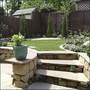 family garden design - practical