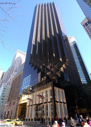 Trump Tower New York  Designing Buildings Wiki