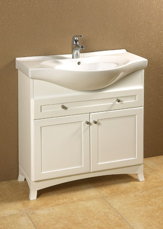 Ronbow  32 12 Eurostyle ceramic overhang sink with