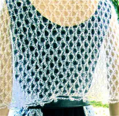 Class: Tunisian Eyelet Meshes (Crochet Meshes: The Weightless Wrap & Variations)