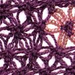 Delta Love Knot Crochet Flower