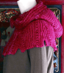 Thaxton Hooded Cowl: Slip Stitch Crochet