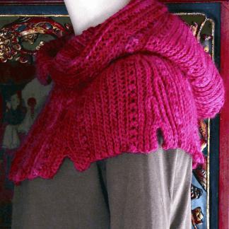 Thaxton Hooded Cowl: Slip Stitch Crochet