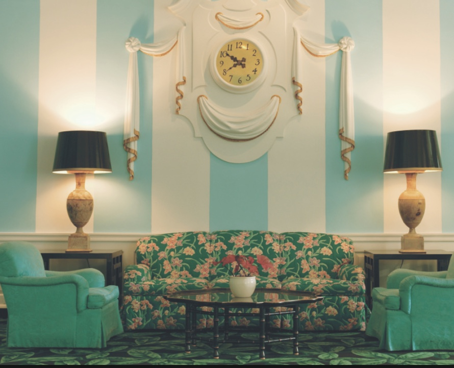 "Greenbrier seating area with sofa""s and chairs"