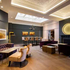 Faux Leather Dining Chairs Old Wood Contract Chair Co. – Mercure Grand Hotel   Design Insider