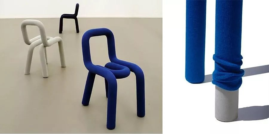 Bold chair by BIGGAME for Moustache  Design Is This